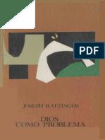 Dios como problema - Joseph Ratzinger.pdf