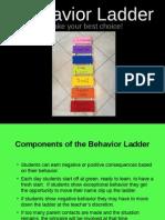 Behavior Ladder Powerpoint