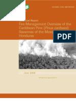 Caribbean Pine Savannas, Honduras Mosquitia Fire Management Assessment