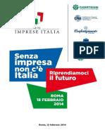 Senza imprese non c'è Italia
