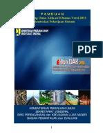 Panduan E-Monitoring DAK Versi 2013