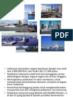 PERKEMBANGAN PELABUHAN INDONESIA