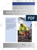 Site Sampling Testing Concrete