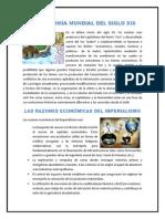 LA ECONOMÍA MUNDIAL DEL SIGLO XIX
