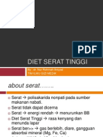 Diet Serat Tinggi