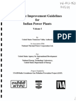 Heat Rate Improvement Guidelines for Indian Power Plants