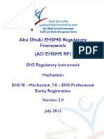 4) 7.0 - AD EHS Professional Entity Registration Mechanism v5 31 May 2012