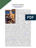 """Josef Stalin en la Biblioteca"" por Nicolás González Varela"