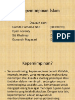 Psikologi Komunikasi Pbi Kepemimpinan Islam