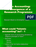 Islamic Accounting 28 May 2008