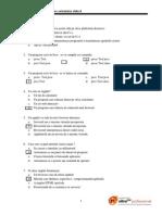 Teste Grila-POO-Java Si UML1