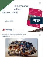 PAS 55-Implementation Excellence