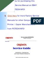 OKIPAGE 6e, 6ex Service Manual 2