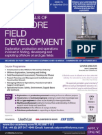Fundamentals of Offshore Field Development - TT112
