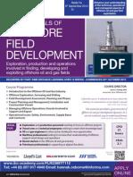 Fundamentals of Offshore Field Development - TT112
