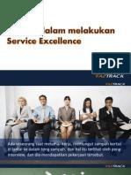 Inisiatif Dalam Melakukan Service Excellence