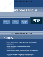 Management of Low Output Ostomy