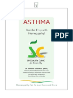 Homeopathic Treatment for Asthma