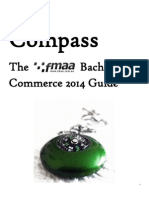 Compass - The FMAA Bachelor of Commerce 2014 Guide
