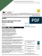 Protestos Fizeram Governo Mudar Discurso Sobre Copa - 09-02-2014 - Poder - Folha de S