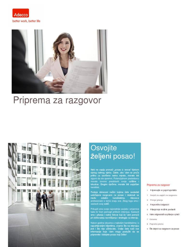 Upoznavanje s radnim klijentom