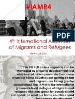 4th International Assembly of Migrants and Refugees