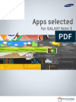 Apps Selected for GALAXY Note 3(English)
