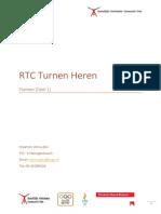 RTC Turnen Heren Flanken
