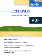 KPN Travels Online Bus Booking - TicketGoose