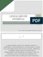 Lenguajes de Interfazu1