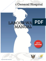 Sgh o g Labour Ward Manual 2013