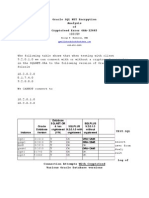 Cryptoseed Testing Analysis George Milliken DB
