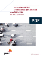 3 IFRS PWC IFRS Illustrative Financial Statements 2013