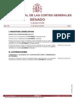 BOCG Enmiendas Ley Seguridad Privada 2014