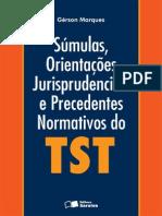 Sumulas e OJ Gerson Marques