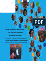 The Fourth PanAfrican Summit of Youth Leaders of the United Nations (AfriYAN-January 2014)