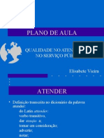 PLANO DE AULA - Explanação