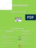 attacking corners