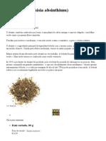 Absinto (Artemisia Absinthium) - Azarius
