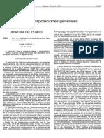 Ley General de Telecomunicaciones 11_1998, De 24 de Abril