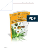 Diabetic Herbs and Their Action