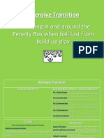 defending in and around the penalty area