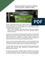 Actualización situación jurídica en Santa Cruz Barillas, proceso 1 de mayo, 12-02-2014