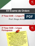 2ª FASE OAB_Prof.DiogoArrais