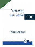 2 CONTESTAÇÃO II