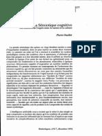Semiotique Cognitive