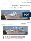ANZAC 2015 Centennial Tribute Cruise