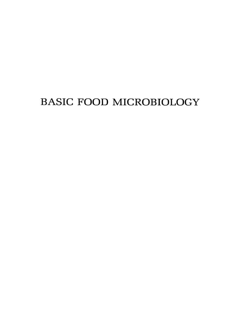 George J Banwart Basic Food Microbiology 1979 Preservation For Diagram Door Wiring Opener Pv 612 Microorganism