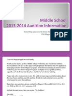 264-PVA MS Audition Guide