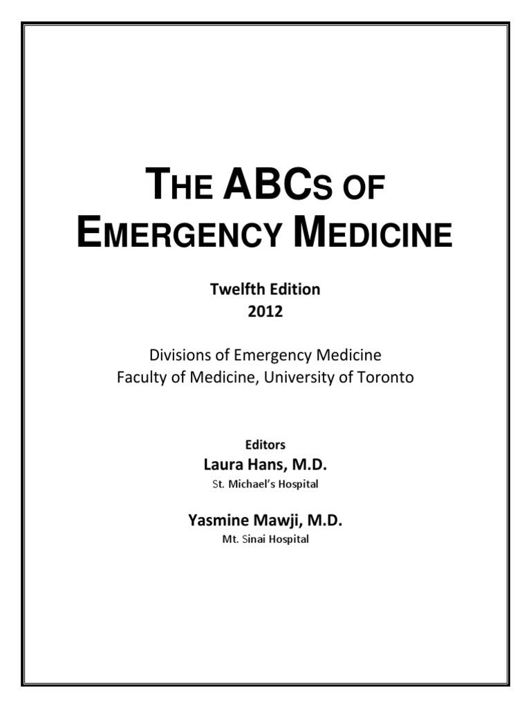 The Abcs Of Emergency Medicine Shock Circulatory Lung